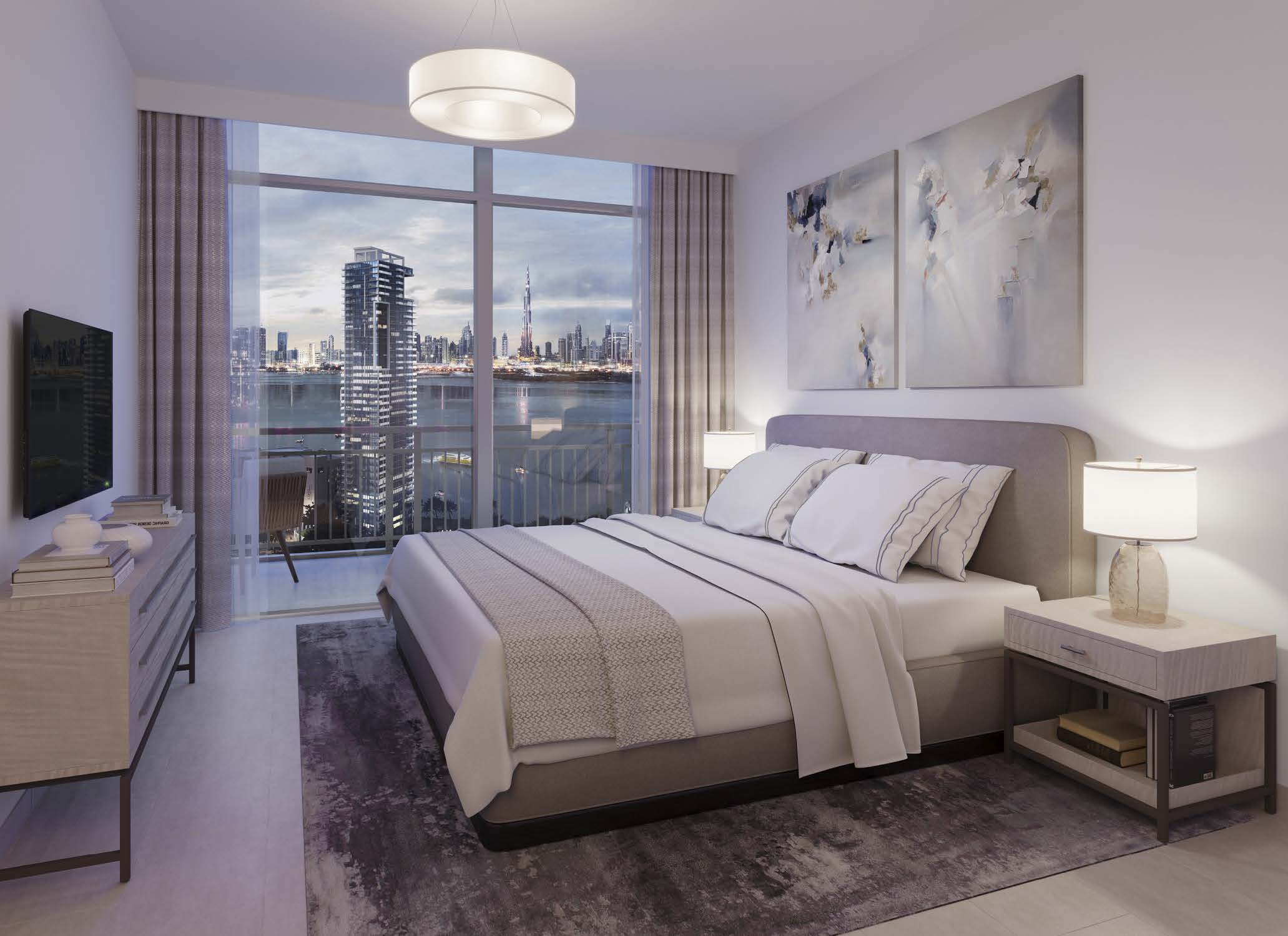 Creek Rise by Emaar in Dubai Creek Harbour. Luxury apartments for sale in Dubai._1