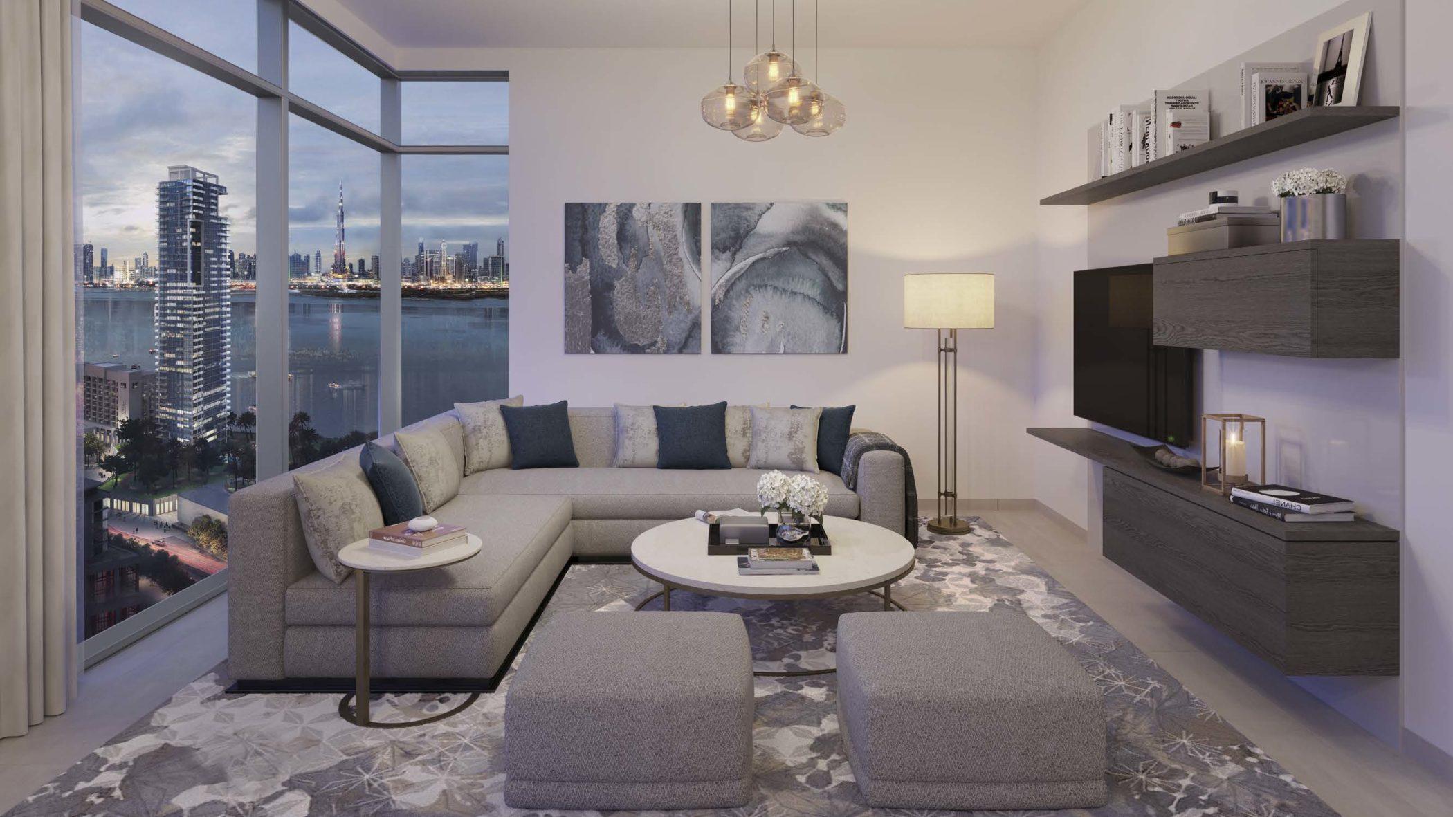 Creek Rise by Emaar in Dubai Creek Harbour. Luxury apartments for sale in Dubai._2