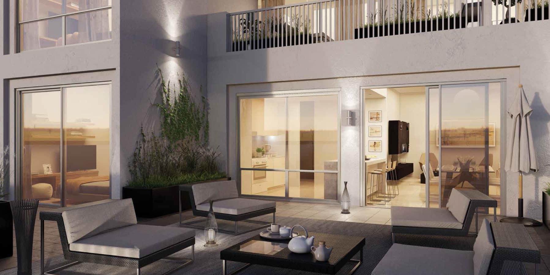 Hayat Boulevard apartments by Nshama