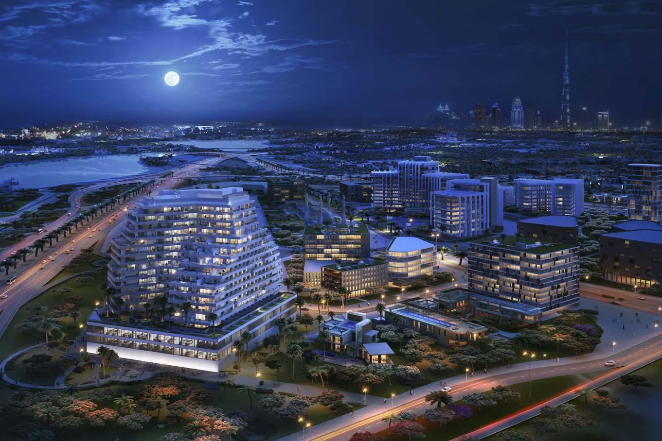 Aliyah by Azizi in Dubai Healthcare City. Luxury apartments for sale in Dubai