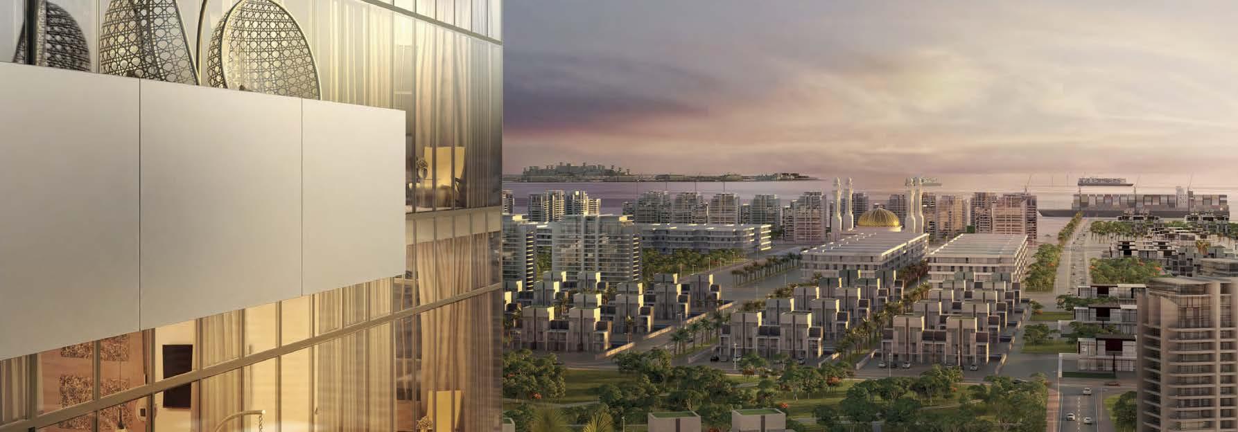 Aura by Azizi in Jabal Ali. Luxury apartments for sale in Dubai