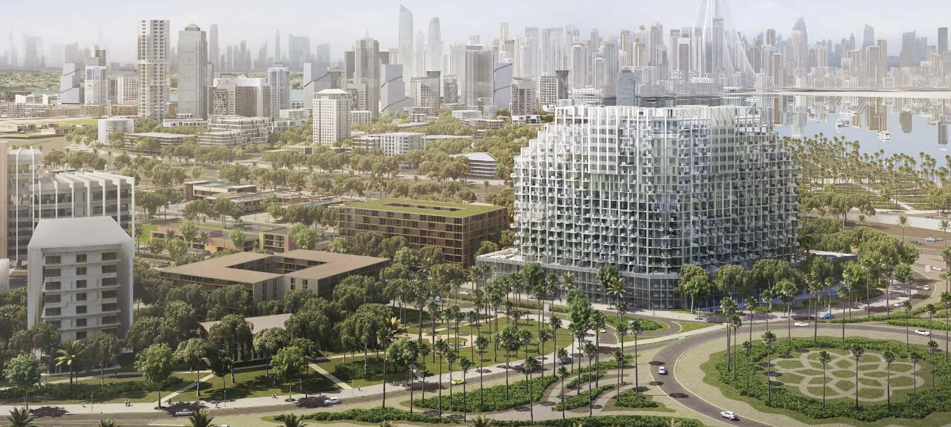 Farhad by Azizi in Dubai Healthcare City. Luxury apartments for sale in Dubai
