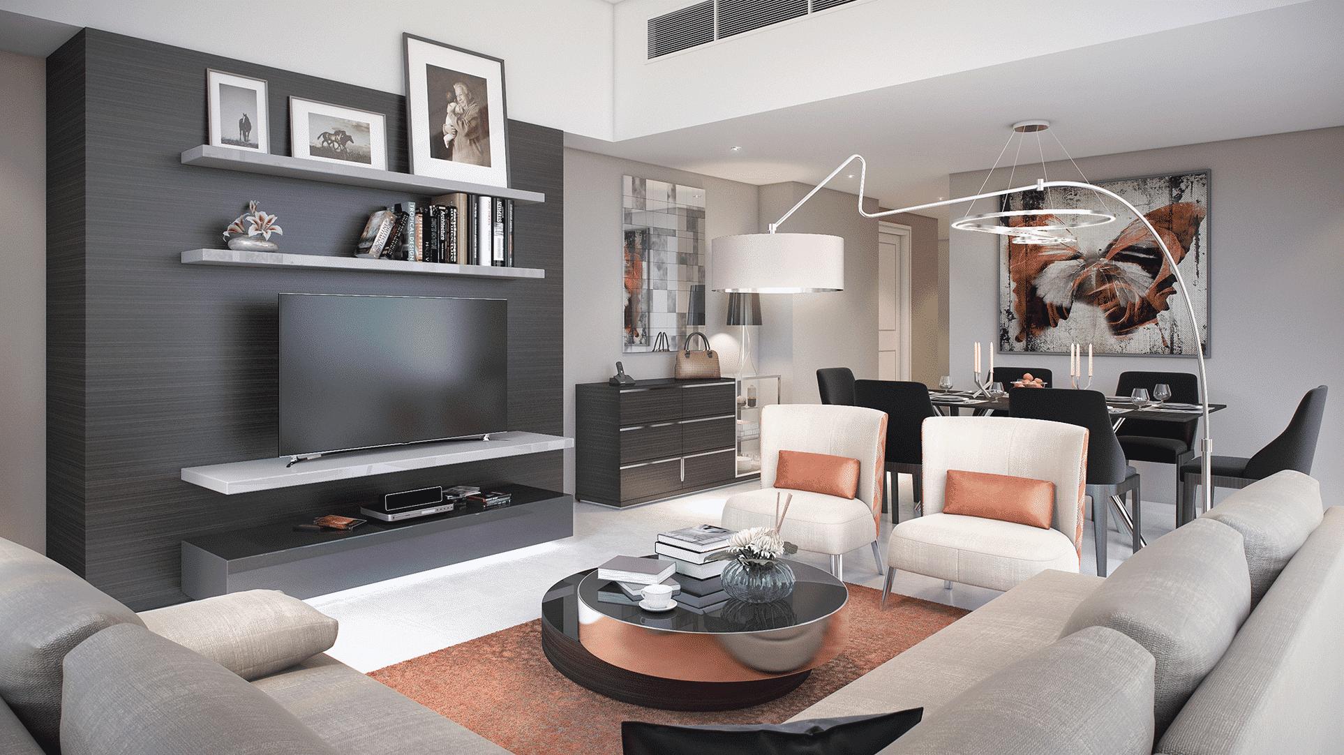 Bellavista by Damac at DAMAC Hills. Luxury apartments for Sale in Dubai