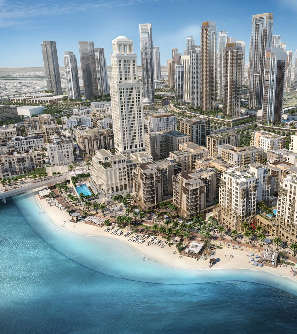 Surf at Creek Beach by EMAAR — New Apartments for Sale in ...