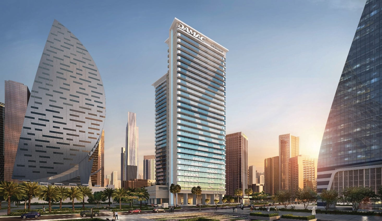 Merano Tower by Damac at Business Bay — Apartments for ...