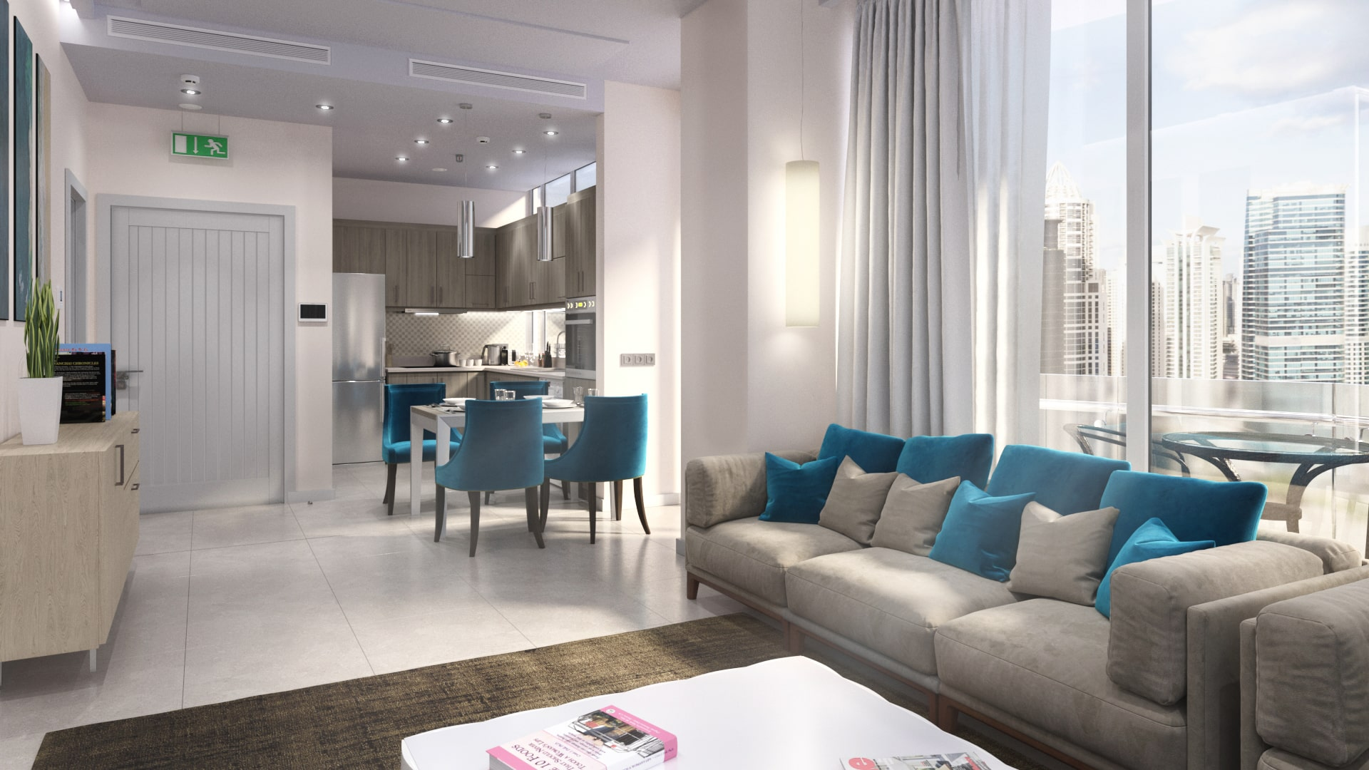 Seven city apartments JLT- Jumeirah Lake Towers. Property for sale in dubai