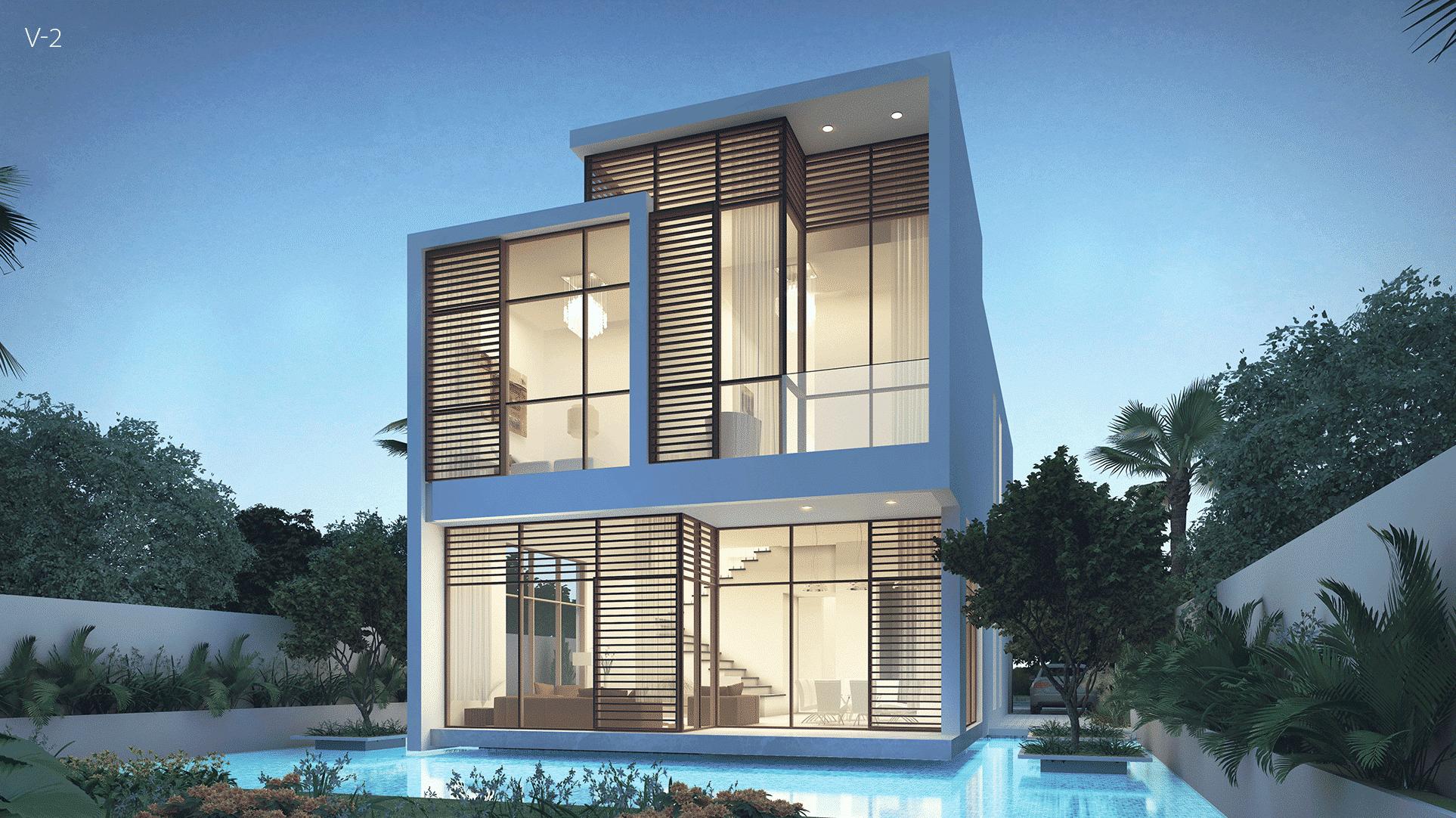The Park Villas by Damac at Damac Hills. Luxury apartments for Sale