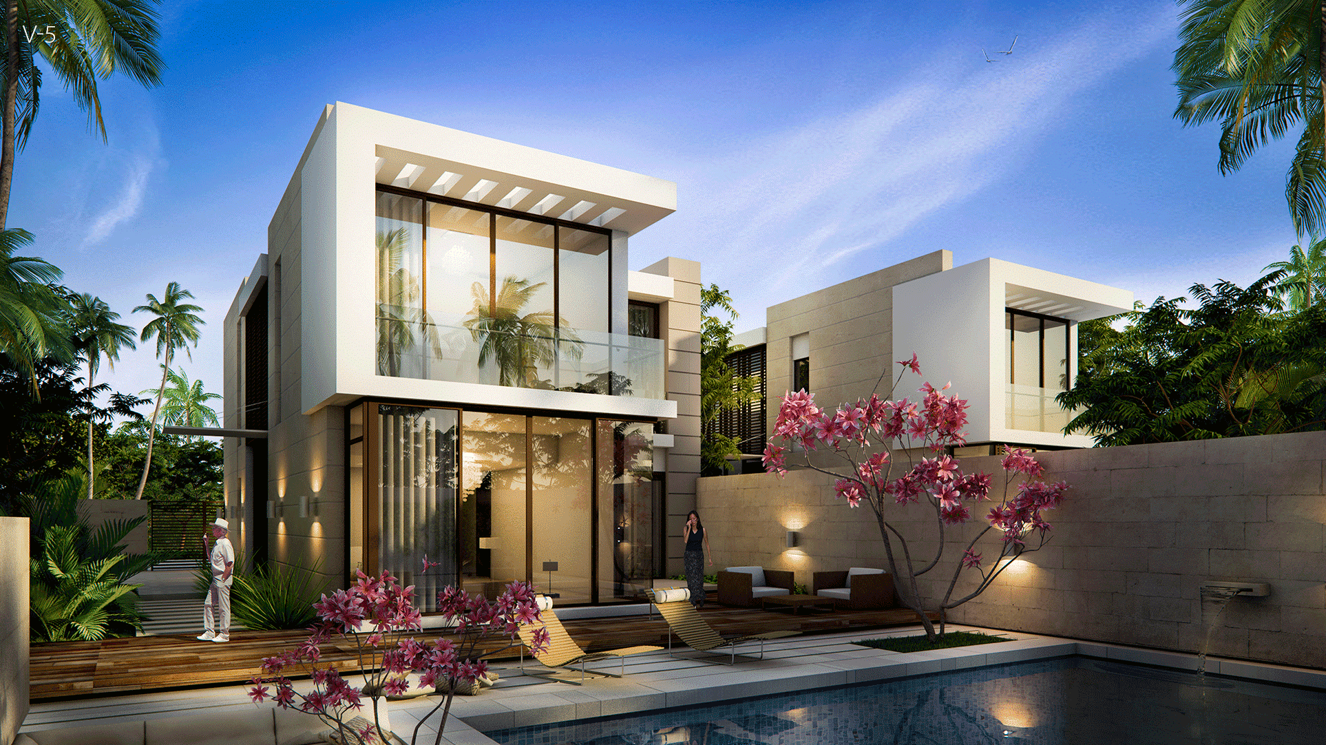 The Park Villas by Damac at Damac Hills. Luxury apartments for Sale V-5