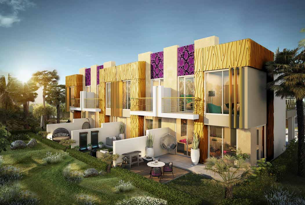 Недвижимость Just Cavalli Villas в Akoya от Damac Properties. Продажа премиум недвижимости в Дубае 3 2