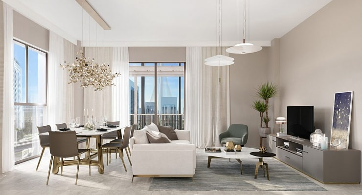 Bayshore квартиры в Dubai Creek Harbour от Emaar. Продажа премиум квартир в Дубае 11