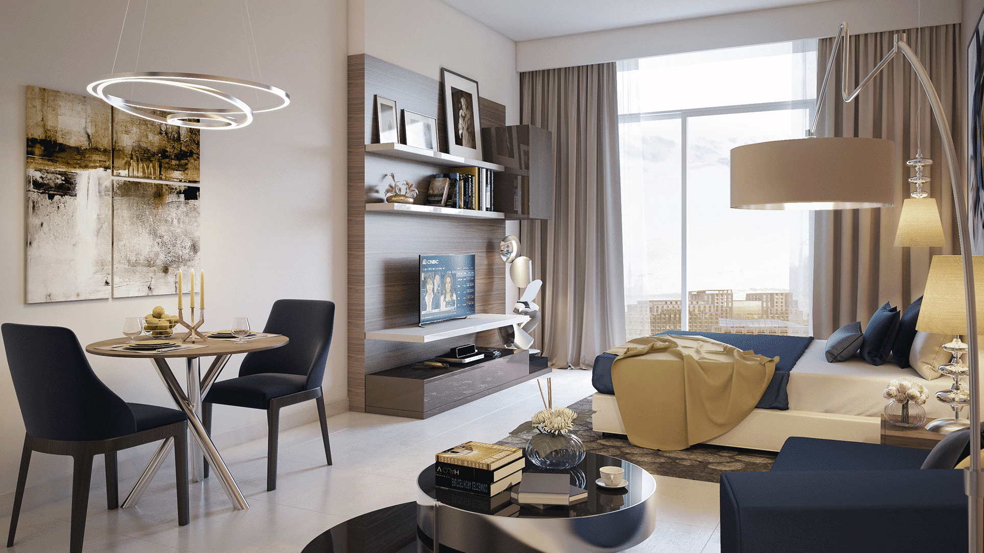 Fiora by Damac at Akoya. Luxury apartments for Sale in Dubai 1
