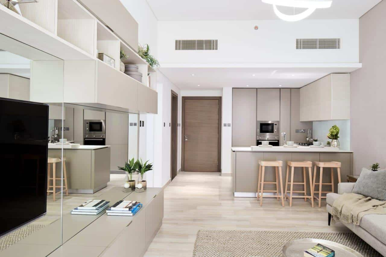 Oxford Residence 2 by Iman Developers at Jumeirah Village Circle. Luxury apartments for Sale in Dubai