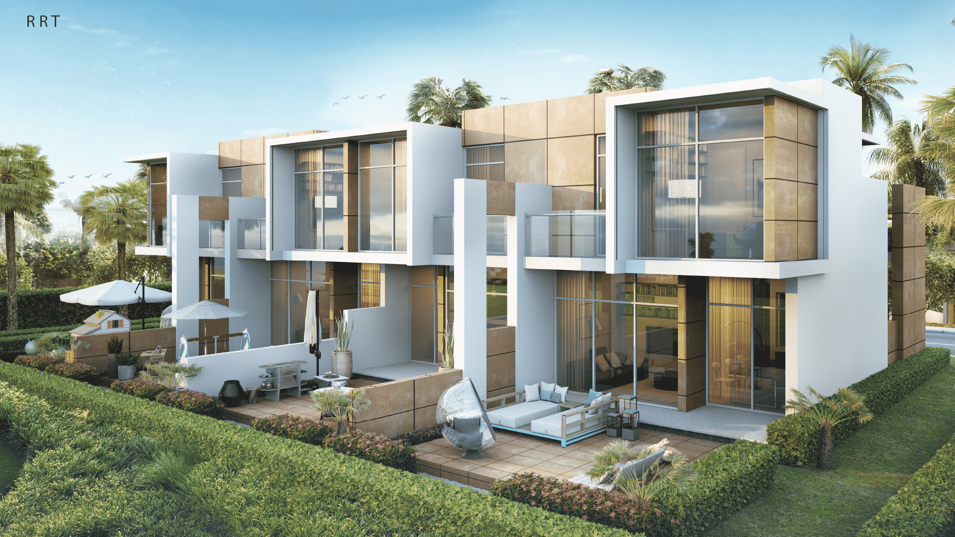 Sahara Villas by Damac at Akoya. Luxury apartments for Sale in Dubai. 1