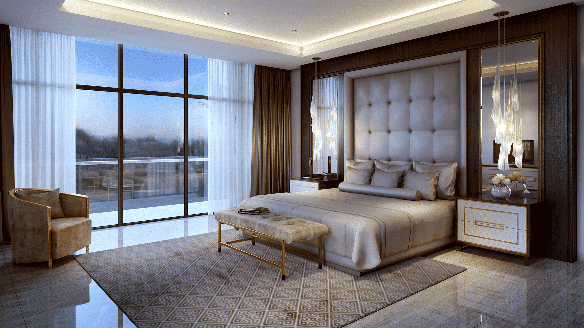 The Trump Estates by Damac at Damac Hills. Luxury apartments for Sale in Dubai 3