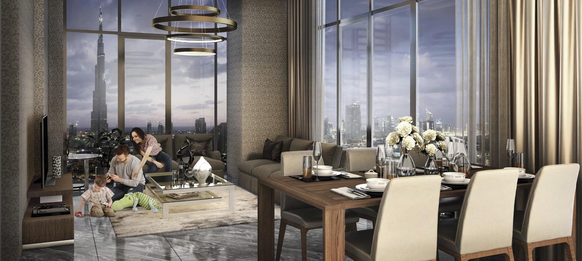 Creek Views by Azizi in Dubai Healthcare City. Premium apartments for Sale in Dubai 3