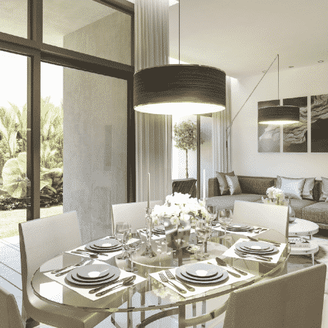 Townhouses on The Golf & The Park в Damac Hills от Damac Properties. Продажа недвижимости премиум-класса в Дубае 2