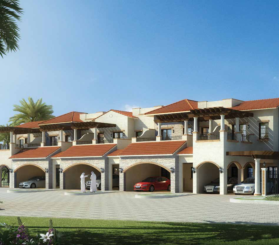 Bloom Garden in Eastern Mangrove Corniche by Bloom. Premium townhouses and villas for sale in Dubai 3 1