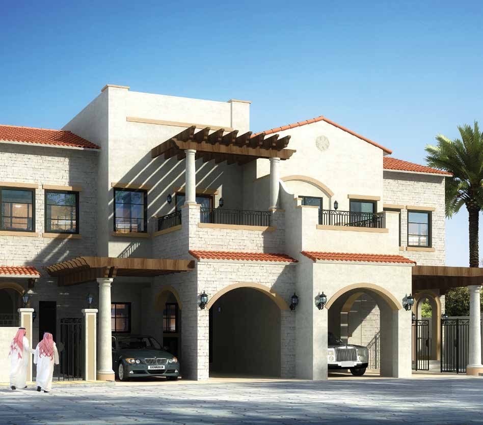 Bloom Garden in Eastern Mangrove Corniche by Bloom. Premium townhouses and villas for sale in Dubai 3 2