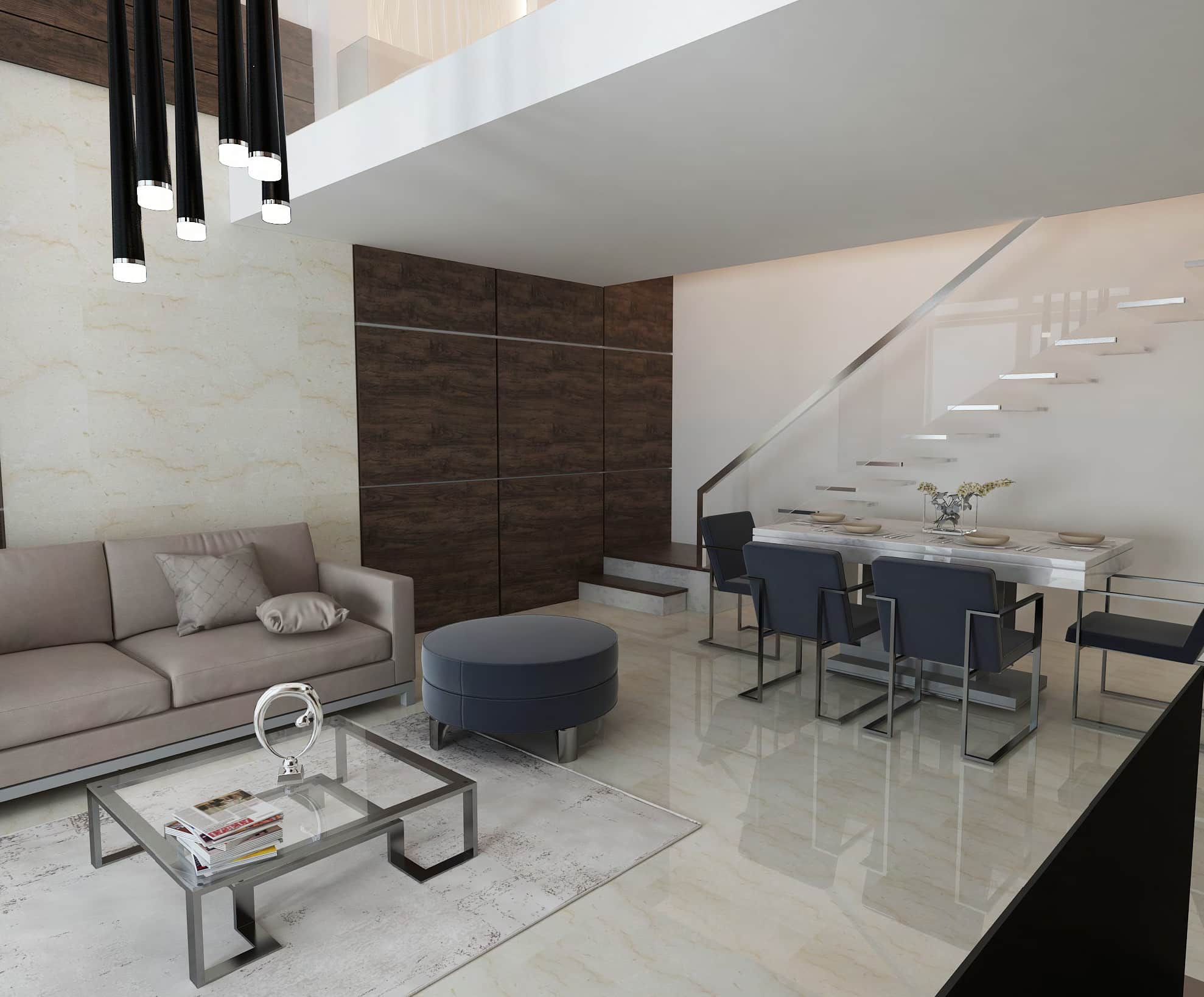 Rukan Lofts by Rukan in Dubailand, Dubai. Premium 1, 2 bedroom townhouses with bathrooms for Sale in Dubai. Payment Plan available._33