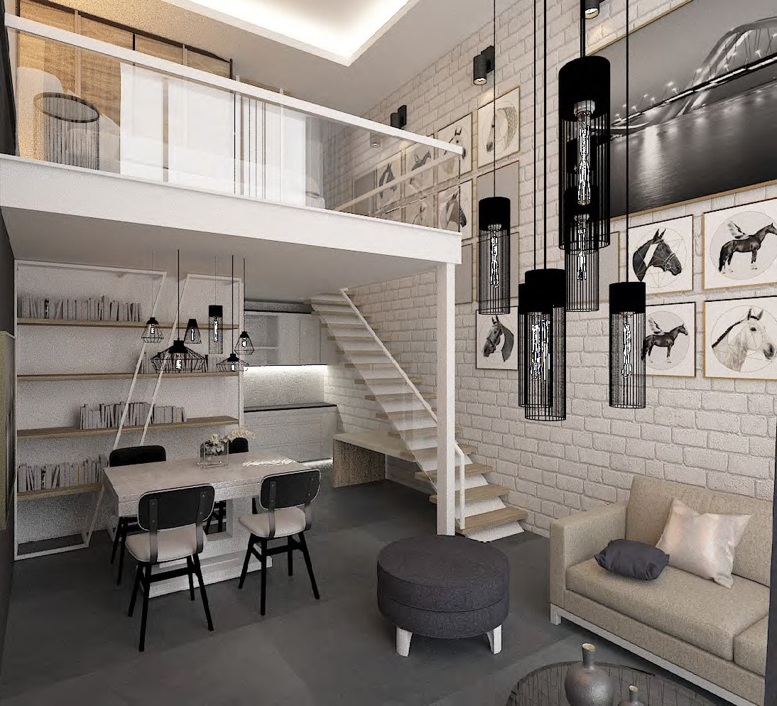 Rukan Lofts by Rukan in Dubailand, Dubai. Premium 1, 2 bedroom townhouses with bathrooms for Sale in Dubai. Payment Plan available._34