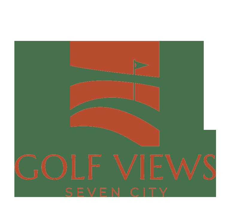 Golf Views Seven City Logo Dark
