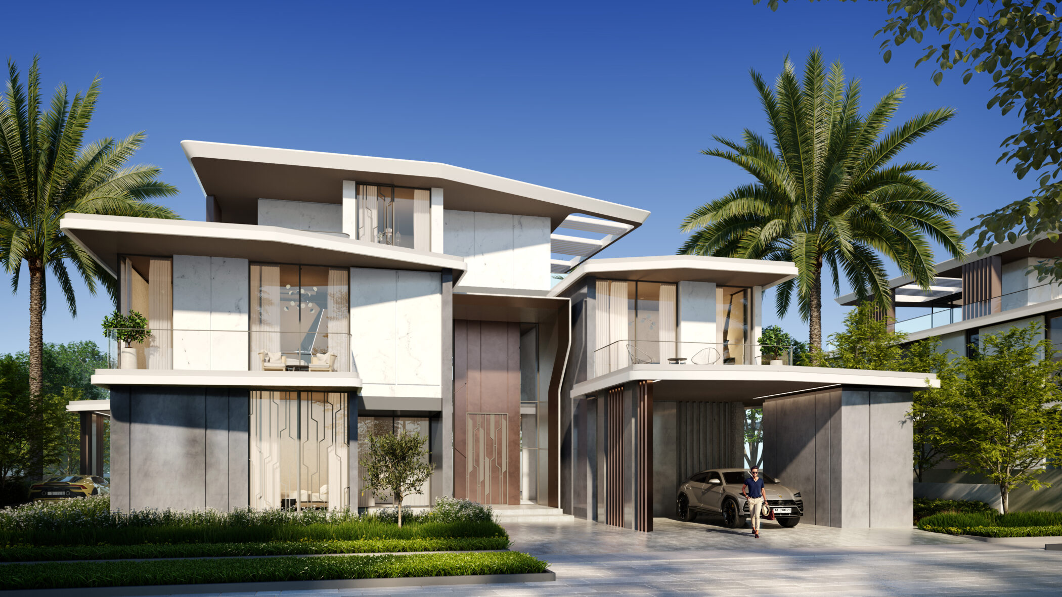 Dubai Hills Vista Inspired by Automobili Lamborghini in Dubai Hills Estate by Emaar. Wide selection of 6 bedroom villas for sale in Dubai 3 1