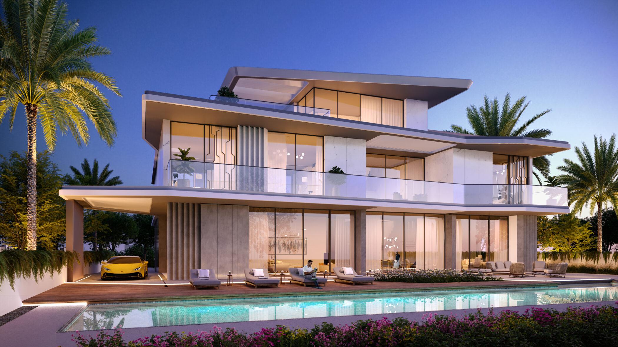 Dubai Hills Vista Inspired by Automobili Lamborghini in Dubai Hills Estate by Emaar. Wide selection of 6 bedroom villas for sale in Dubai 3 2