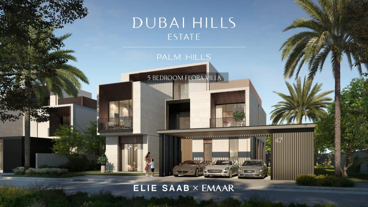 Palm Hills by Emaar in Dubai Hills. Premium villas for Sale in Dubai 3 1