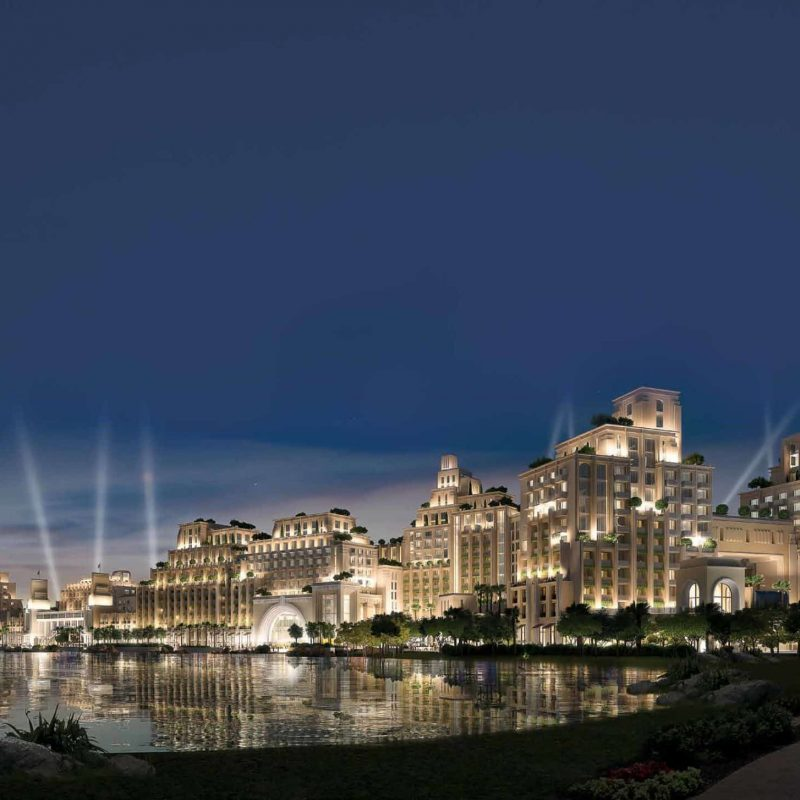 Недвижимость Just Cavalli Villas в Akoya от Damac Properties. Продажа премиум недвижимости в Дубае