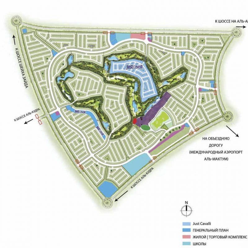 Недвижимость Just Cavalli Villas в Akoya от Damac Properties. Продажа премиум недвижимости в Дубае 5 4