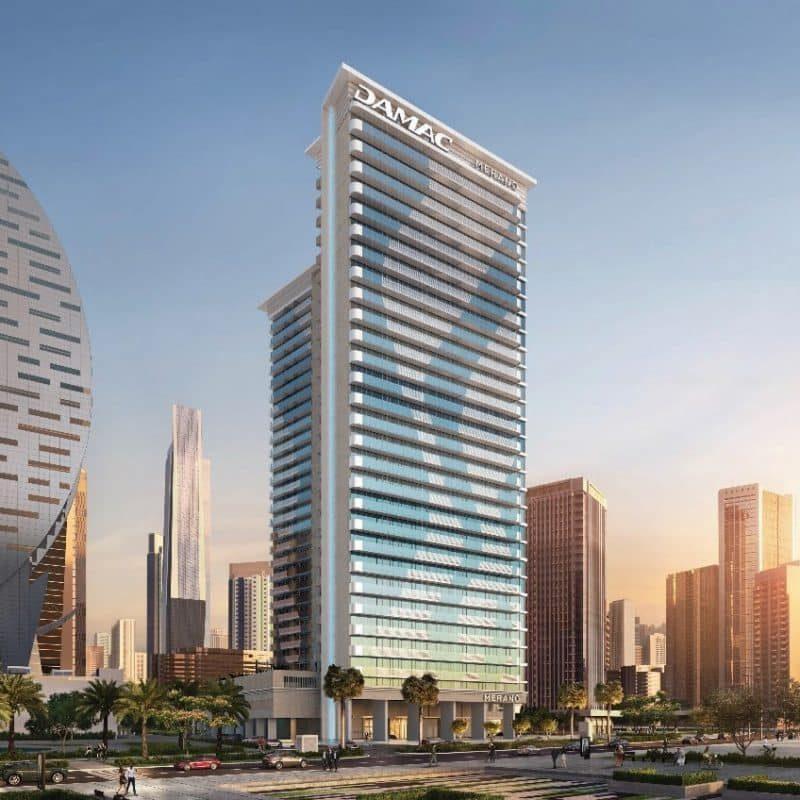 Недвижимость-Merano-в-Business-Bay-от-Damac-Properties.-Продажа-премиум-недвижимости-в-Дубае