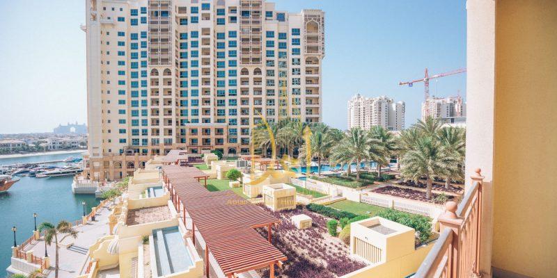 Marina Residences in Palm Jumeirah, Dubai.