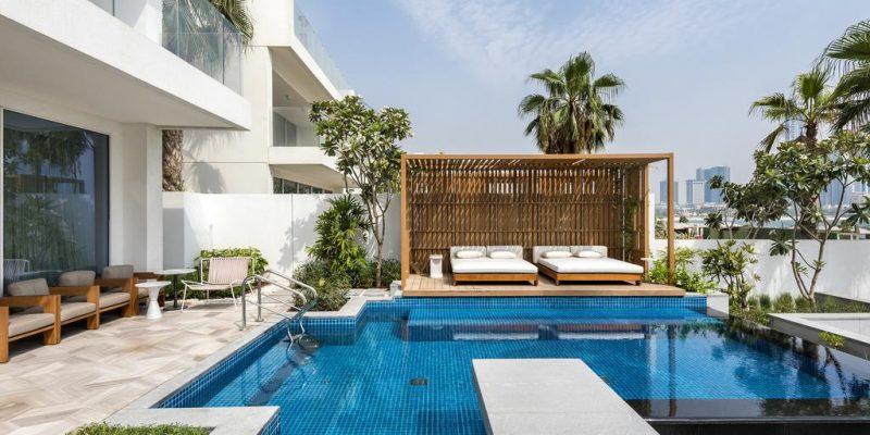 The Five Palm Jumeirah by Skai Holdings in Palm Jumeirah, Dubai.