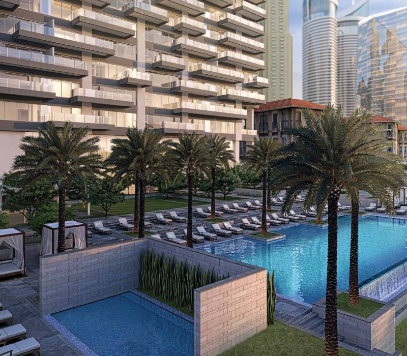 1JBR by DP in Jumeirah Beach Residence. Luxury apartments for sale in Dubai