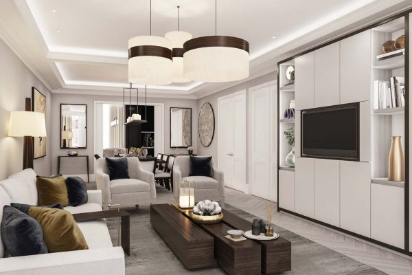 35 Old Queen Street at Westminster, London. Luxury apartments for Sale in London
