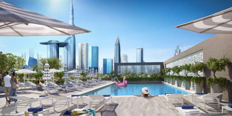 Rove City Walk in Downtown Dubai by EMAAR