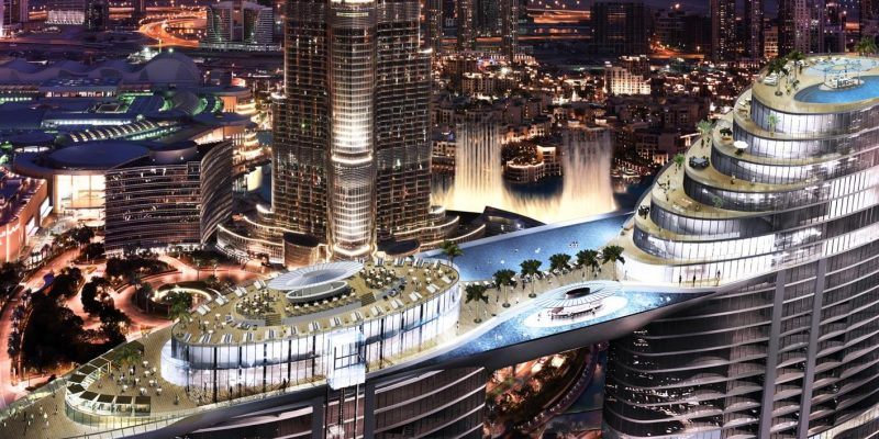 The Address Residences Sky View in Downtown Dubai for Sale in Dubai.