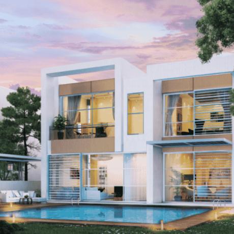 Adria Villas by Damac at Akoya. Luxury apartments for Sale in Dubai
