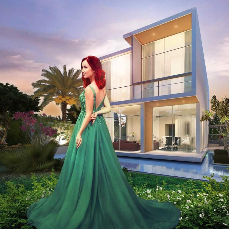 Adria apartments by Damac at Akoya. Luxury apartments for Sale in Dubai