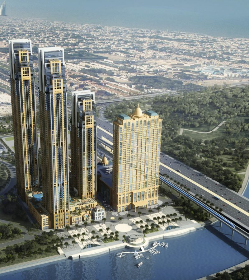 Amna Tower by Al Habtoor Group in Business Bay, Dubai. Premium apartments for Sale in Dubai 5 4