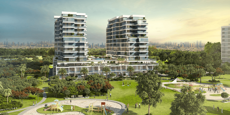 Apartments on The Park by Damac at Damac Hills. Luxury apartments for Sale in Dubai_1