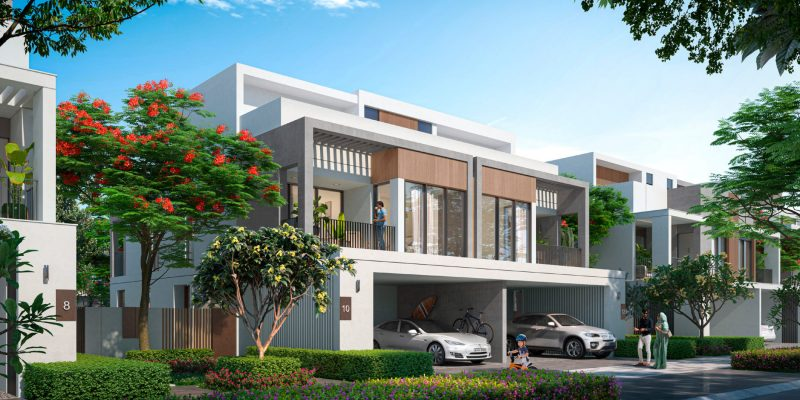 Aura-by-Majid-Al-Futtaim-in-Tilal-Al-Ghaf,-Dubai.-Premium-4-bedroom-twin-villas-for-sale-in-Dubai.-11