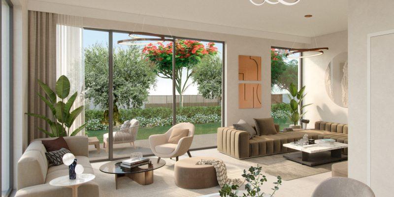 Aura-by-Majid-Al-Futtaim-in-Tilal-Al-Ghaf,-Dubai.-Premium-4-bedroom-twin-villas-for-sale-in-Dubai.-2