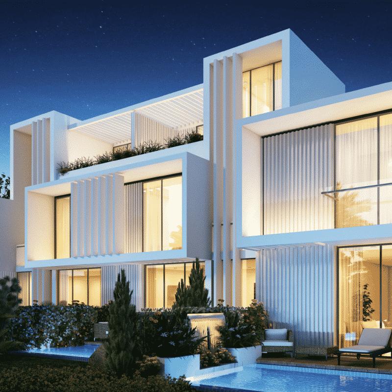 Aurum Villas в Akoya от Damac Properties. Продажа недвижимости премиум-класса в Дубае 5 3