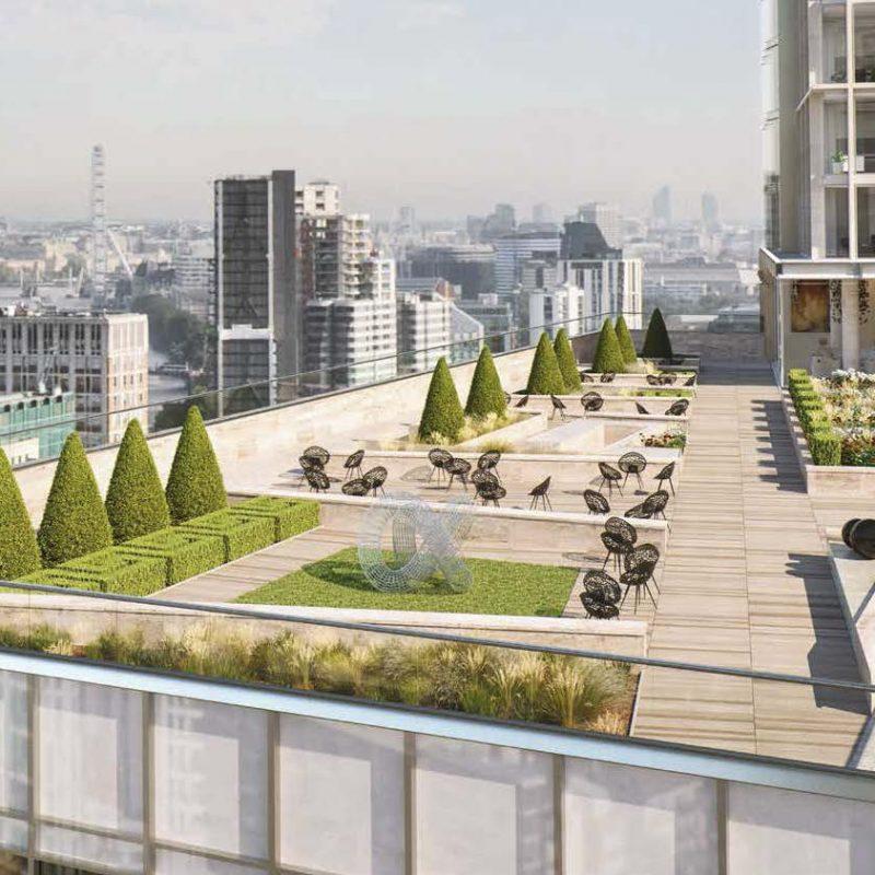Aykon London One by Damac in London. Luxury apartments for Sale in London