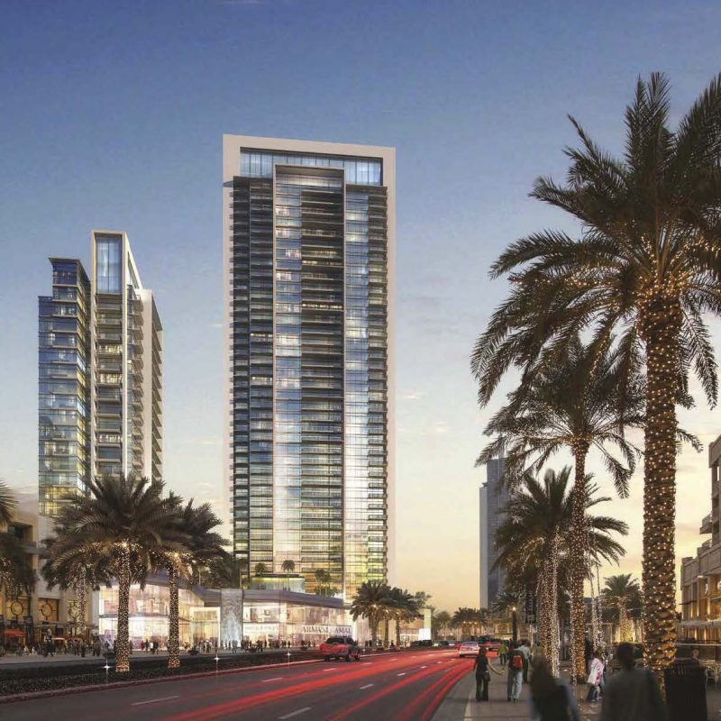 BLVD Crescent by EMAAR — 1-3 bedroom apartments for Sale ...