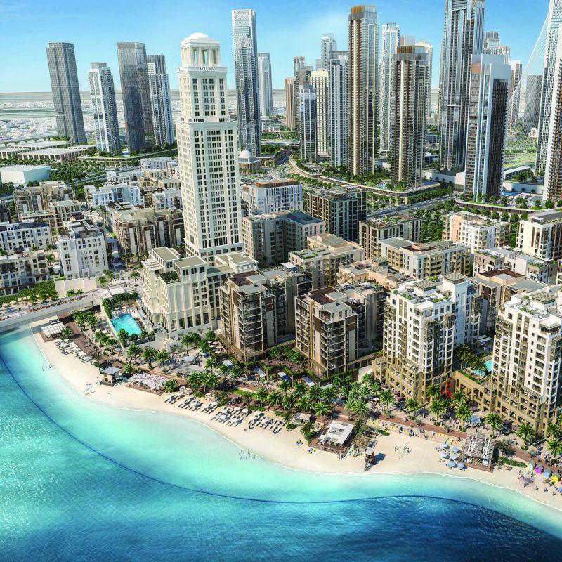 Bayshore квартиры в Dubai Creek Harbour от Emaar. Продажа премиум квартир в Дубае