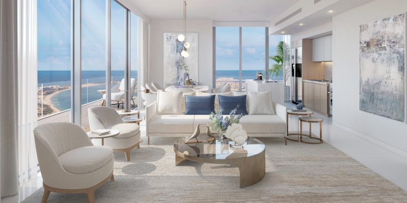 Beach Isle in Emaar Beachfront by Emaar Properties, Dubai.