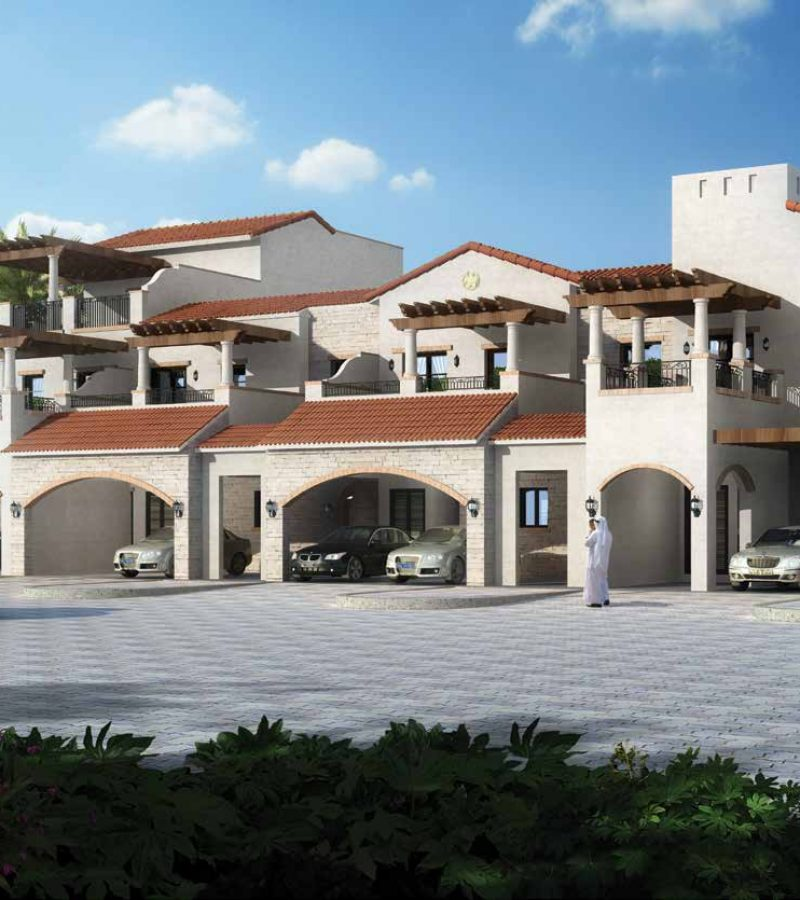 Bloom Garden in Eastern Mangrove Corniche by Bloom. Premium townhouses and villas for sale in Dubai 5 1