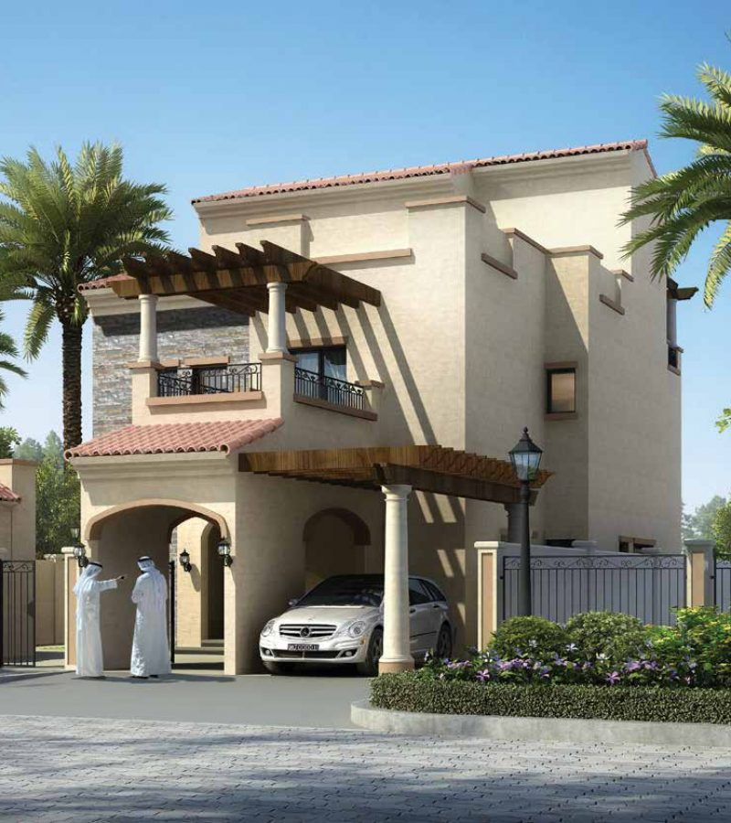 Bloom Garden in Eastern Mangrove Corniche by Bloom. Premium townhouses and villas for sale in Dubai 5 2